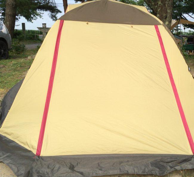 母子キャンプおすすめテントキャンパルジャパンのピスタ34