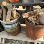 印旛沼サンセットヒルズオートキャンプ場で売っている薪