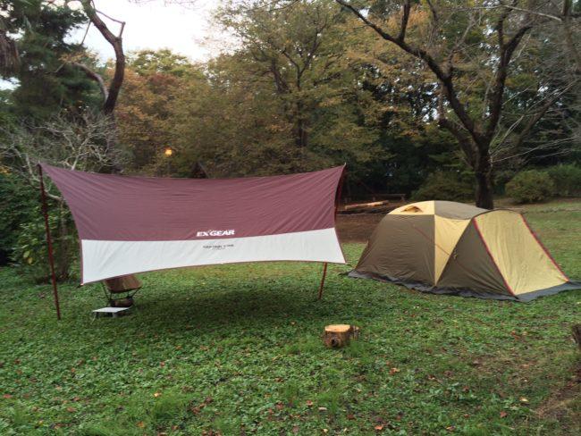 母子キャンプでのおすすめタープ