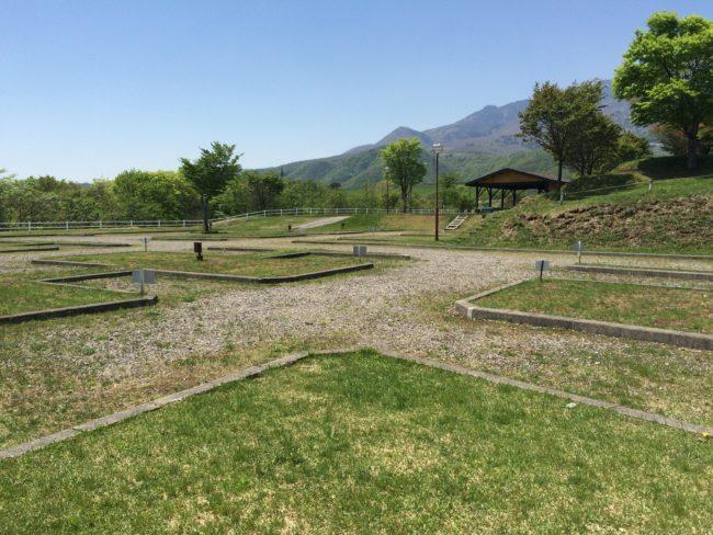 大笹牧場オートキャンプ場サイト下段