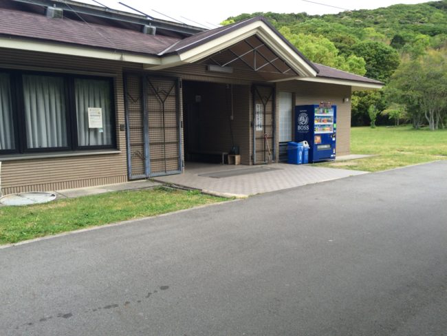 加太オートキャンプ場管理棟
