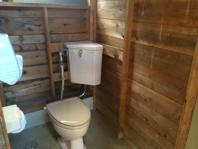 上毛高原トイレ