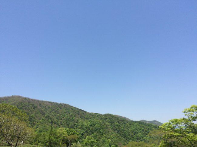 大笹牧場オートキャンプ場景色