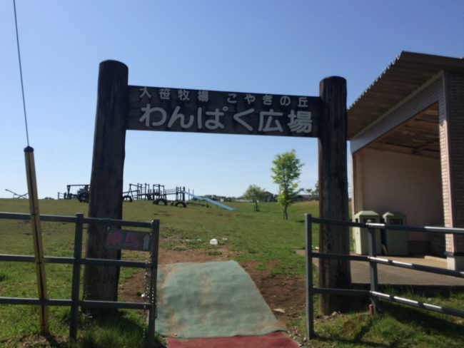 大笹牧場オートキャンプ場広場