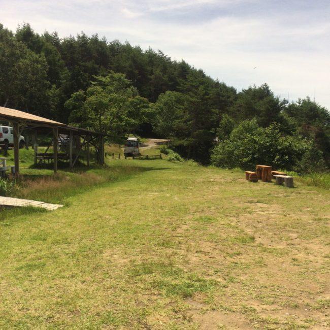 陣馬形山キャンプ サイト