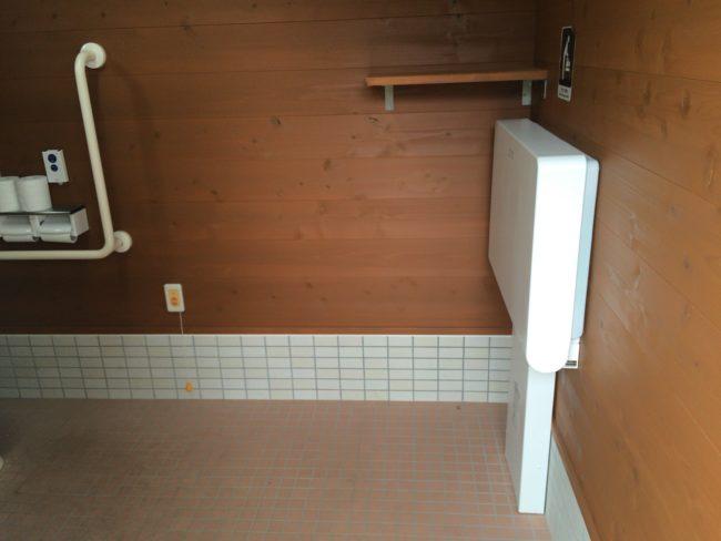 だるま山高原キャンプ場洋式トイレ中