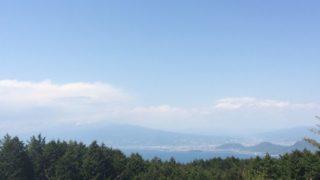 だるま山高原キャンプ場景色