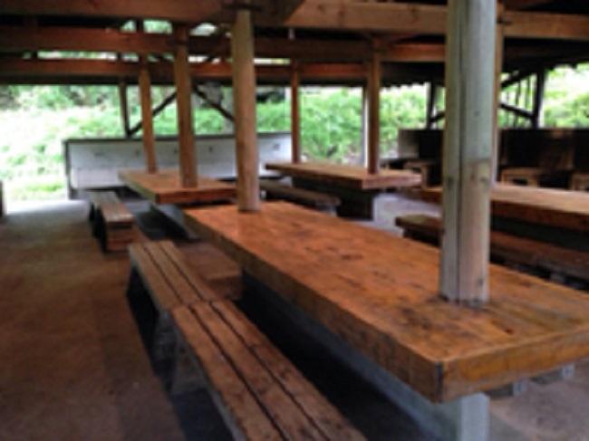 天城ふるさと広場キャンプ場炊事場