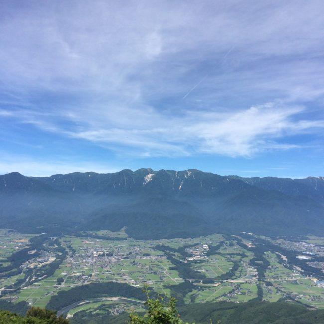 陣馬形山キャンプ 絶景