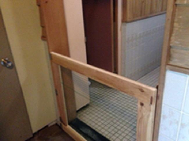 天城ふるさと広場キャンプ場トイレ入口2