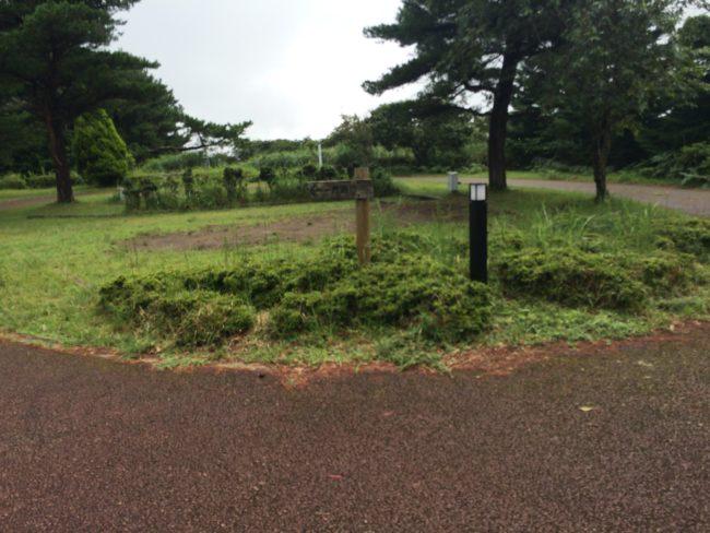 だるま山高原キャンプ場場内オートサイト