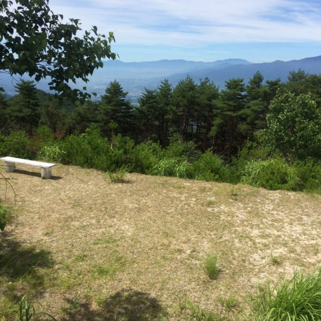 陣馬形山キャンプ (2)