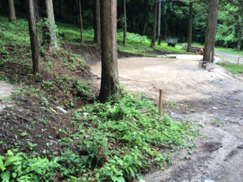 小黒川渓谷キャンプ場オートサイトB2