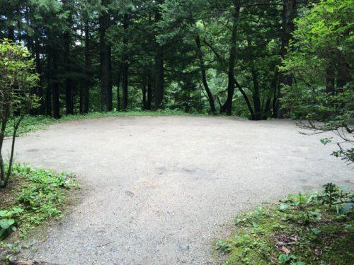 小黒川渓谷キャンプ場オートサイト3