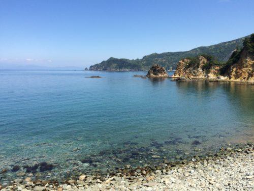 キャンプ黄金崎海岸2