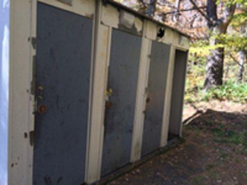 夢の平キャンプ場トイレ