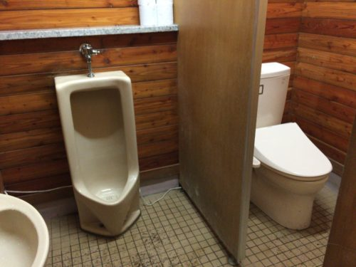 小黒川渓谷キャンプ場トイレ