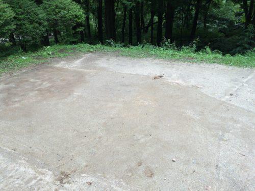 小黒川渓谷キャンプ場オートサイト2