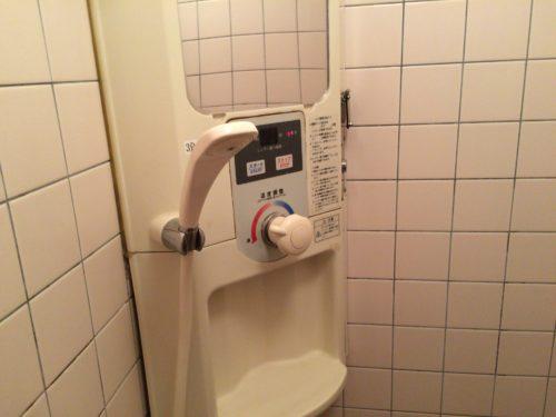 みどりの村キャンプ場 シャワールーム洗い場