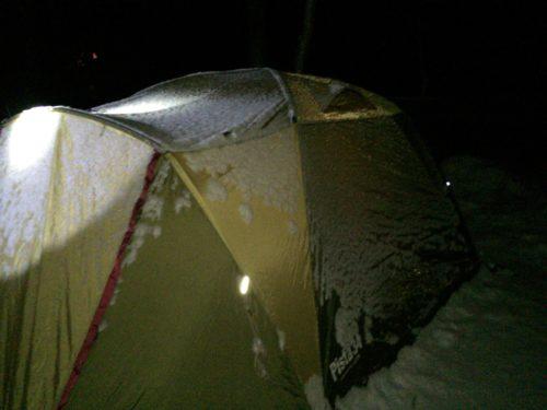 雪中キャンプにおすすめテント