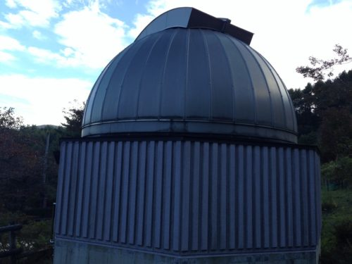 なんもく村自然公園キャンプ場 天体観測設備