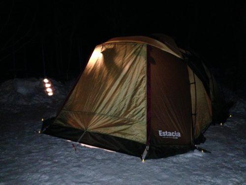 エスタシア5雪キャンプ