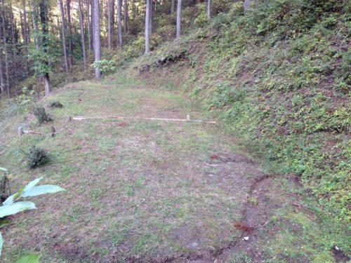 なんもく村自然公園キャンプ場キャンプサイ下段サイト