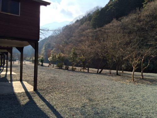 神之川キャンプ場バンガロー写真