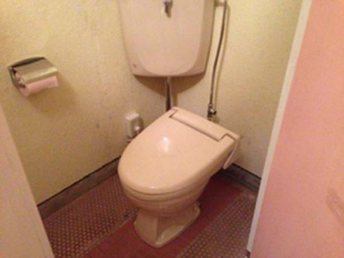なんもく村自然公園管理棟内の洋式トイレ (4)