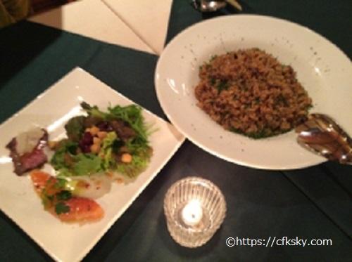 FUJIYAMA KITCHENで夕食