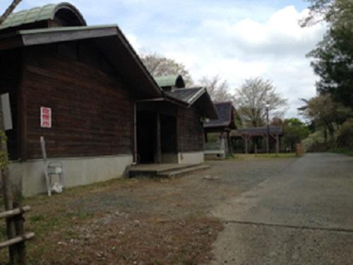 清和県民の森キャンプ場のシャワールーム