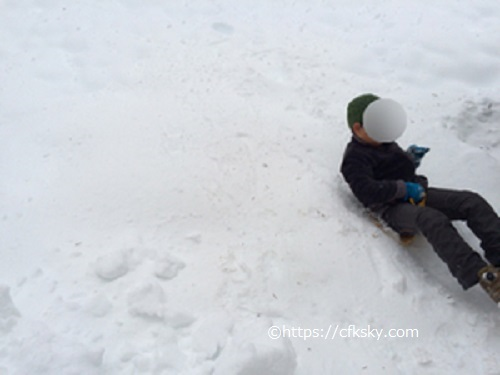 PICA山中湖ハンモックコテージ で雪遊び