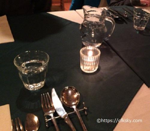 FUJIYAMA KITCHENで食べた夕食