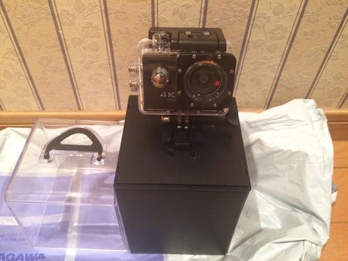 想像以上に小さかったアクションカメラ