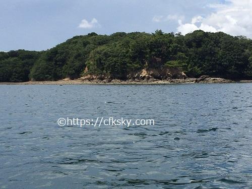 英虞湾での島々をシーカヤックで漕いで楽しむ
