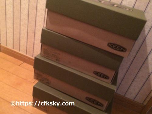 キャンプで履く靴KEENが1000円!人気のヨギも1000円で売ってるよ