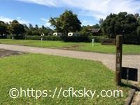 高須町公園オートキャンプ場 のオートサイト区画