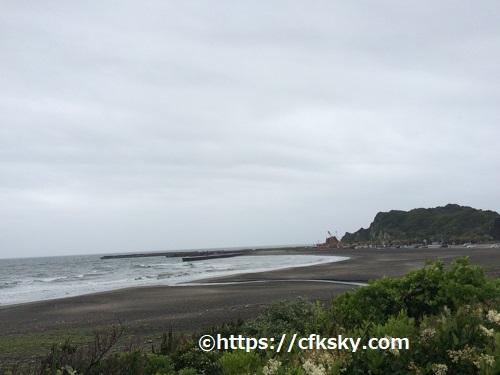 ワイルドキッズ岬キャンプ場でキャンプ からは海はみれない