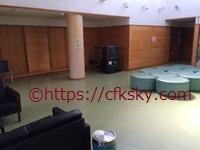 高須町公園オートキャンプ場 の管理棟ロビー奥にあるお風呂