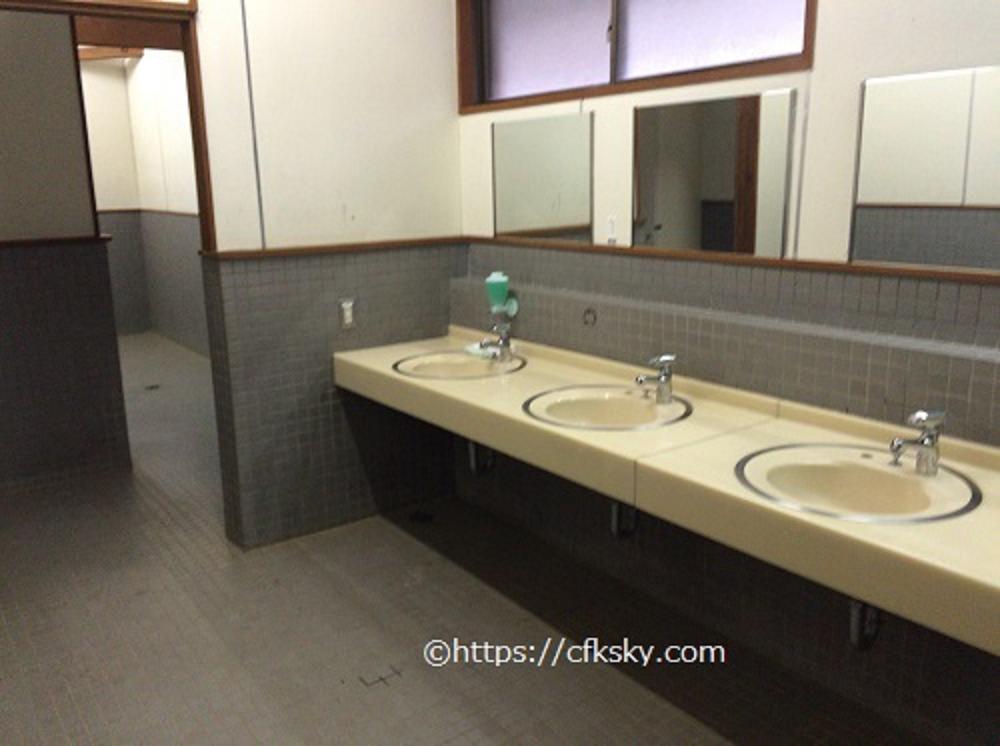 塩原グリーンビレッジのトイレ