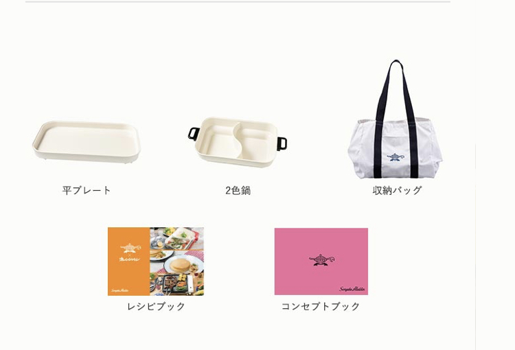 センゴクアラジンプチパンの収納袋と付属品
