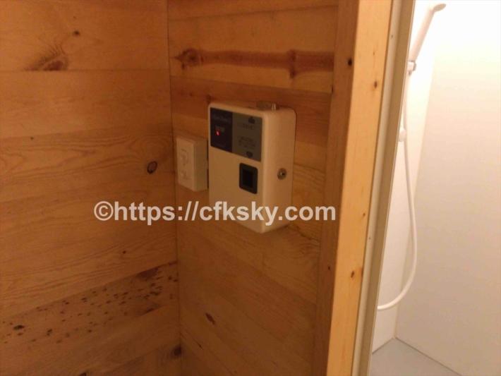 かもしかオートキャンプ場シャワー室1