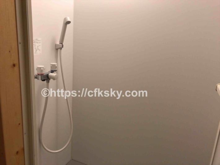 かもしかオートキャンプ場のシャワー個室