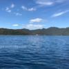 本栖湖で漕いだカヤック
