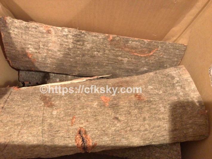 樫薪をたくさん購入