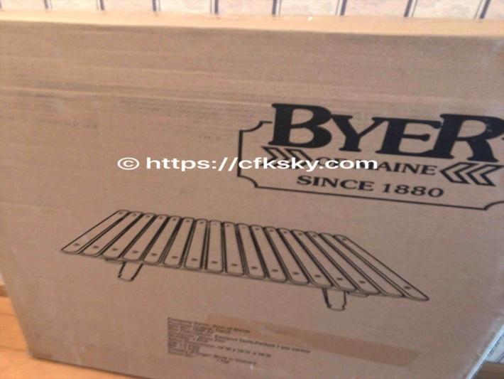 バイヤー パンジーン イーストポートテーブル ホワイトアッシュ Byer of Maine がおしゃれキャンプ用品として購入