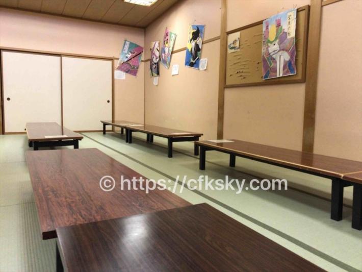 真田温泉健康ランド ふれあいさなだ館にある食事処真田亭での食事