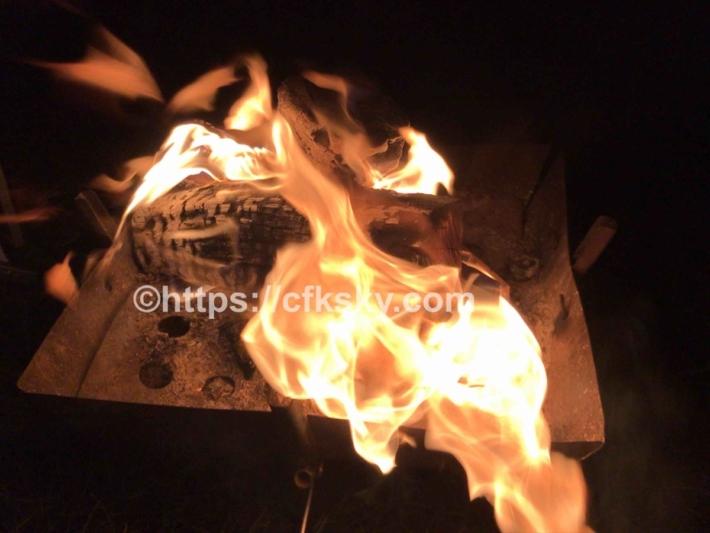 苗場高原オートキャンプ場で楽しんだキャンプと焚き火
