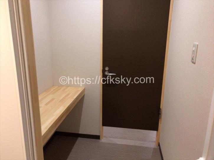 PICAFujiyamaの無料のシャワー室個室スペース