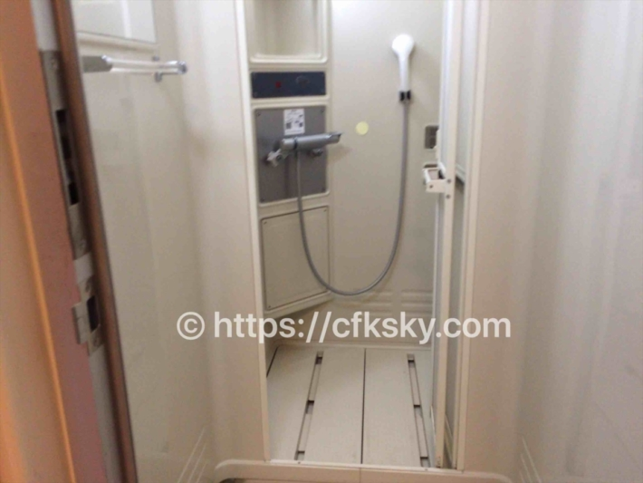 日光だいや川公園オートキャンプ場シャワー室入口個室